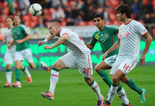 تيريك يقصي لوكوموتيف موسكو من مسابقة كأس روسيا