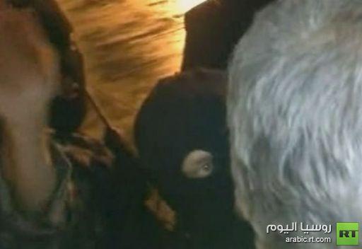 فيديو دخول قوات الامن التركي للطائرة السورية المحتجزة