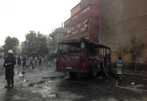 انفجار عبوة ناسفة في حي التضامن بدمشق
