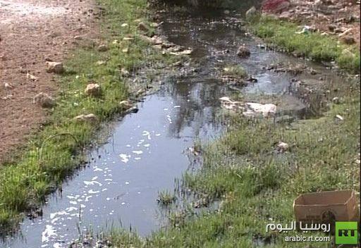 التلوث البيئي يهدد الريف الفلسطيني جراء نفايات المستوطنات الصناعية