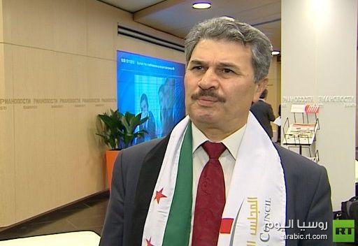 ممثل المجلس الوطني السوري المعارض: المعارضة السورية لا تريد تدخلا عسكريا خارجيا