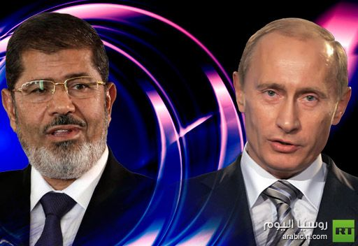 بوتين يعلن تأييده لجهود مصر الرامية إلى تهدئة الوضع في غزة
