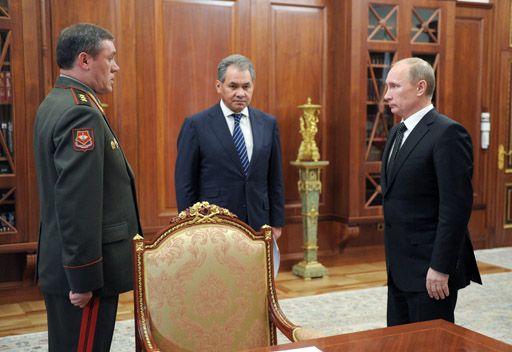 بوتين يعين فاليري غيراسيموف رئيسا للأركان العامة بدلا من نيكولاي ماكاروف