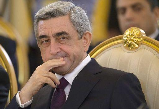 الرئيس الأرمني : سنعمل للحفاظ على السلام في سورية