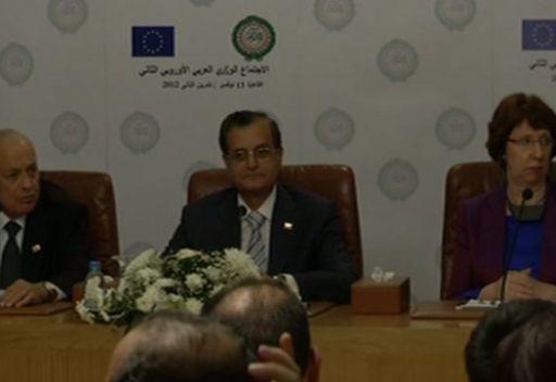 الجامعة العربية والاتحاد الأوروبي يفتتحان غرفة مشتركة لإدارة الأزمات