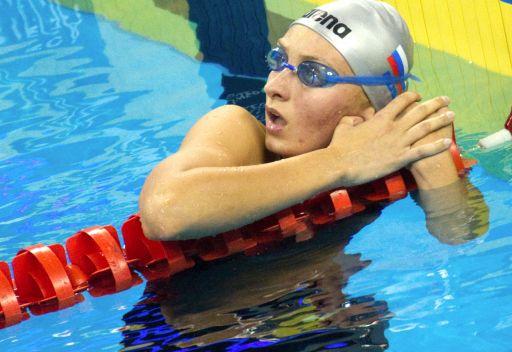 الروسية فيرونيكا بوبوفا تهدي بلادها الذهبية الأولى في بطولة أوروبا للسباحة