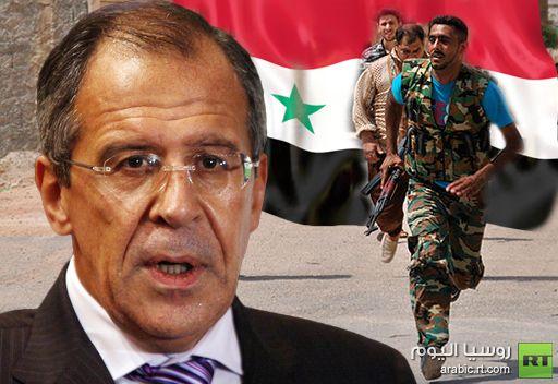 لافروف: لا يمكن أن يدور الحديث عن إنجرار روسيا لصراع مسلح في سورية
