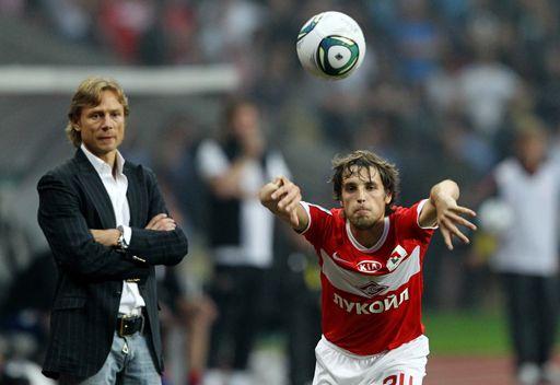 كاربين يتولى مهمة تدريب سبارتاك موسكو من جديد