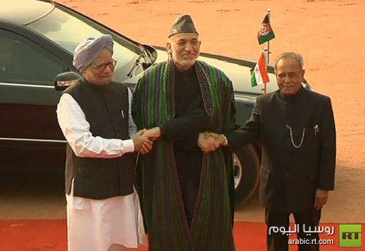 الهند وأفغانستان توقعان 4 اتفاقيات لتعزيز الشراكة