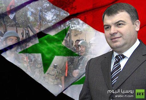 وزير الدفاع الروسي: الجيش السوري قادر تماما  على مواجهة المسلحين