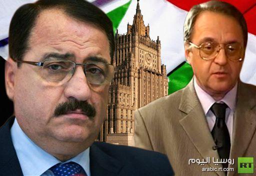 نائب وزير الخارجية الروسي يبحث مع السفير السوري في موسكو سبل إرساء حوار سوري داخلي سلمي