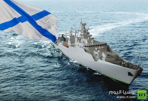 اسطول بحر قزوين يتسلم سفينة الصواريخ