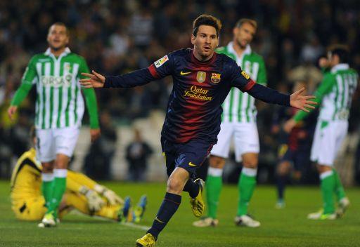 برشلونة يفك عقدة ريال بيتيس في ليلة ميسي
