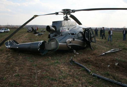مقتل خمسة أشخاص في تحطم مروحية تابعة للقوات الداخلية الأوكرانية