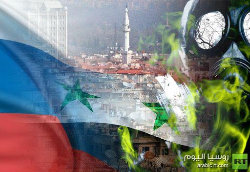 مندوب روسيا لدى الناتو: لا توجد لدينا معلومات فيما اذا كانت دمشق تخطط لاستخدام اسلحة كيميائية