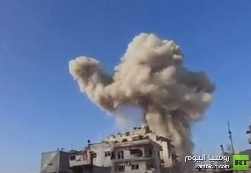 استمرار المعارك قرب مطار دمشق الدولي