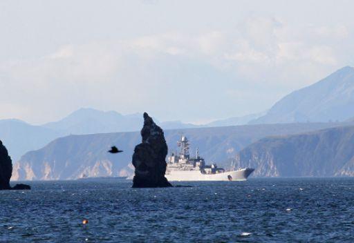 بعض السفن الحربية الروسية بدأت مشوار العودة من المتوسط الى قواعدها