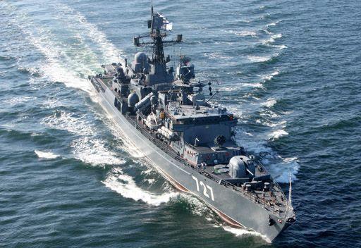 سفن أسطول البلطيق الروسي ستحل محل مجموعة أسطول البحر الأسود بالقرب من السواحل السورية