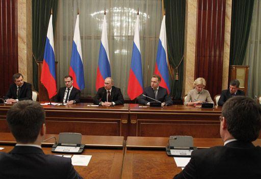بوتين: الحكومة الروسية تتجاوز مرحلة التكوين