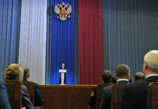 بوتين: احباط 6 عمليات ارهابية في روسيا هذا العام