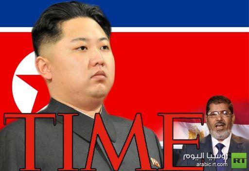 كيم جونغ أون رجل العام 2012 بحسب مجلة