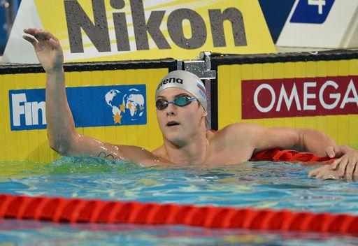 موروزوف يتوج بالذهبية الثانية له في بطولة العالم للسباحة