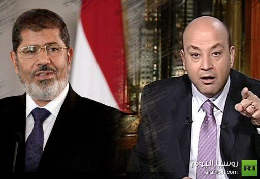 عمرو أديب لمرسي: إذا كان كل متظاهري الاتحادية