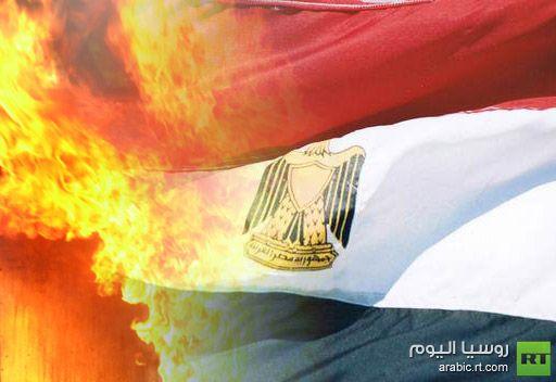 احراق مقر الحرية والعدالة بالسويس.. واصابة 8 اشخاص في الاشتباكات