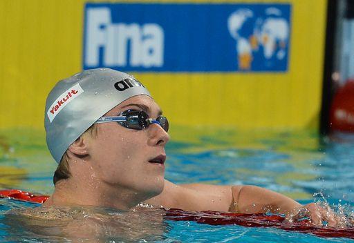 الروسي موروزوف بطلاً للعالم لمسافة 50 م سباحة حرة