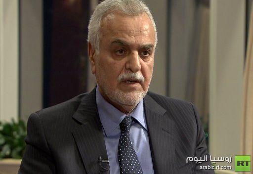 طارق الهاشمي: الوقت الآن متاح للمجتمع الدولي والمجتمع العربي لكي يعيد النظر بعلاقاته مع العراق