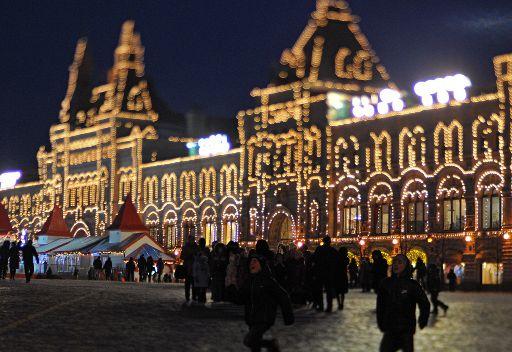 موسكو عشية حلول العام الجديد