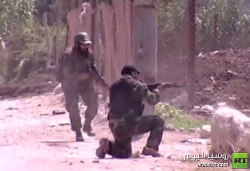 تكتيك الجيش السوري في مواجهة الجماعات المسلحة