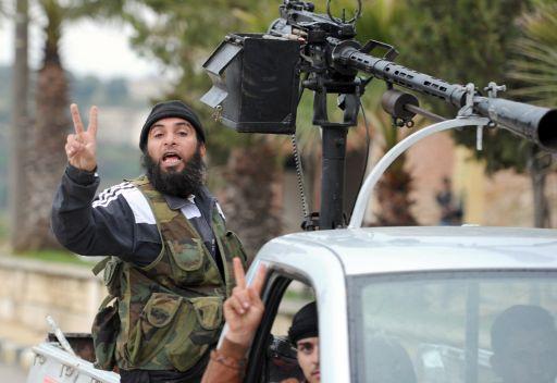 مسلحون في سورية (صورة من الارشيف)