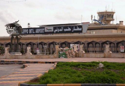 إغلاق مطار حلب الدولي بسبب استهدافه من مقاتلي المعارضة