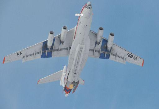 طائرة روسية تقلع من بيروت باتجاه موسكو لنقل مواطنين روس راغبين بمغادرة سورية