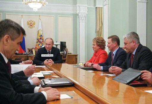 بوتين يبحث الوضع في مالي مع أعضاء مجلس الأمن القومي الروسي