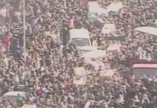 صدامات بين قوات الأمن والآلاف من مشيعي قتلى اشتباكات يوم السبت في بورسعيد
