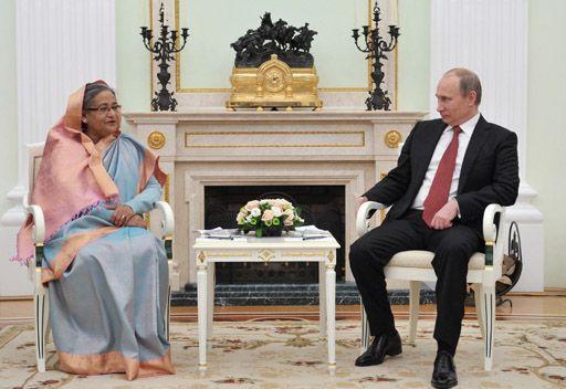 روسيا تمنح بنغلاديش قروضا تفوق المليار دولار  لتطوير اقتصادها وقدراتها الدفاعية