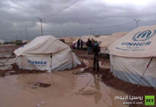 الأردن.. اصابة موظفي إغاثة في مخيم الزعتري للاجئين السوريين