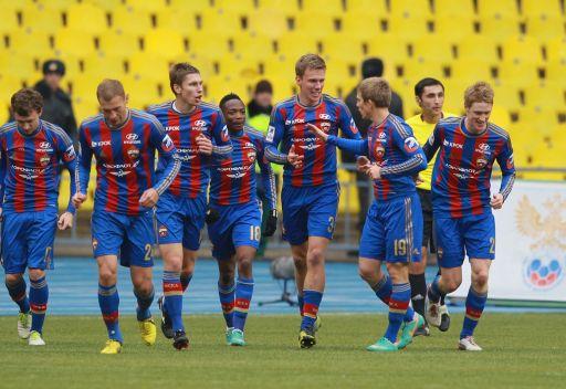 تسيسكا موسكو يتعثر أمام سترومسغودسيت في كأس ديل سول