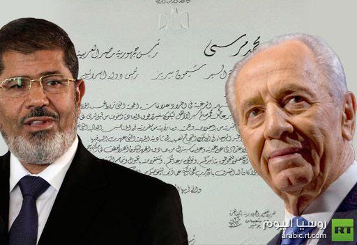 صحيفة: بيريز يعرب عن دهشته لتلقيه رسالة من مرسي ويؤكد انه لا سياحة في مصر بدون بكيني