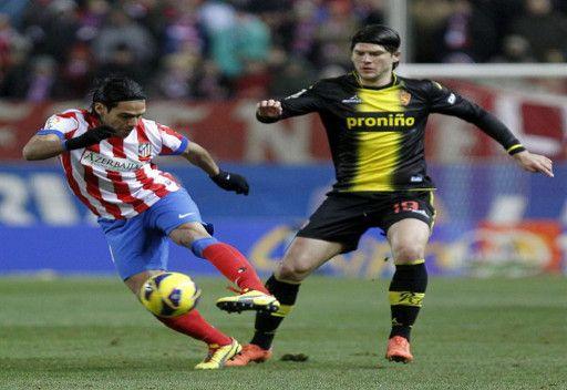 اتلتيكو مدريد يتغلب على ريال سرقسطة بثنائية في الليغا