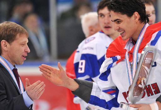 منتخب شباب روسيا لهوكي الجليد يحرز المركز الثالث في بطولة العالم