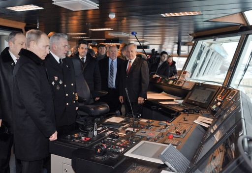 بوتين: روسيا ستطور بناء السفن ذات التكنولوجيا العالية على جميع مراحلها