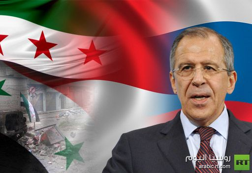 لافروف يشدد على عدم وجود بديل لمواصلة العمل مع كافة الأطراف السورية