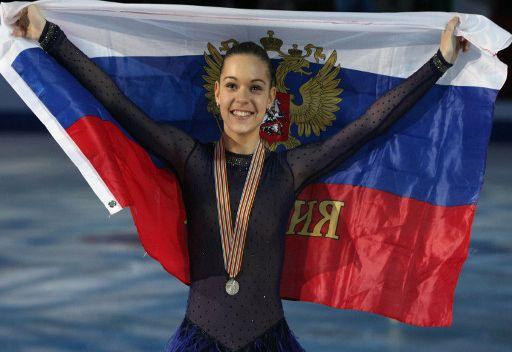 الروسية سوتنيكوفا تفوز بفضية أوروبا للتزحلق الفني