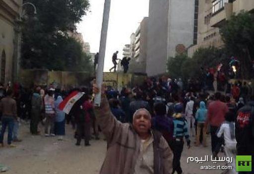 وقوع إصابات في اشتباكات بين قوات الأمن ومعتصمي التحرير في القاهرة