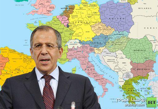 لافروف: روسيا تعارض اعادة تخطيط الحدود في اوروبا