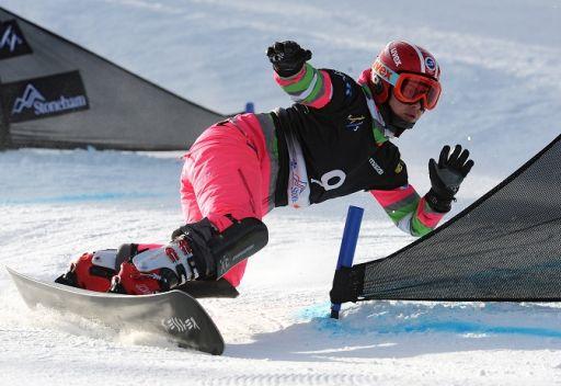 الروسية توديغيشيفا تنال ذهبية العالم في سباق التعرج المتوازي على الجليد