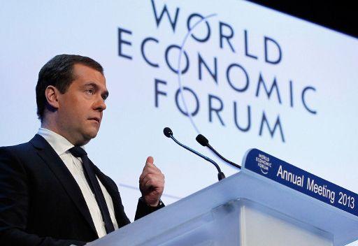 مدفيديف: النمو الاقتصادي لروسيا بلغ 3.5% في عام 2012